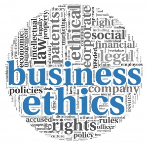 business ethics words