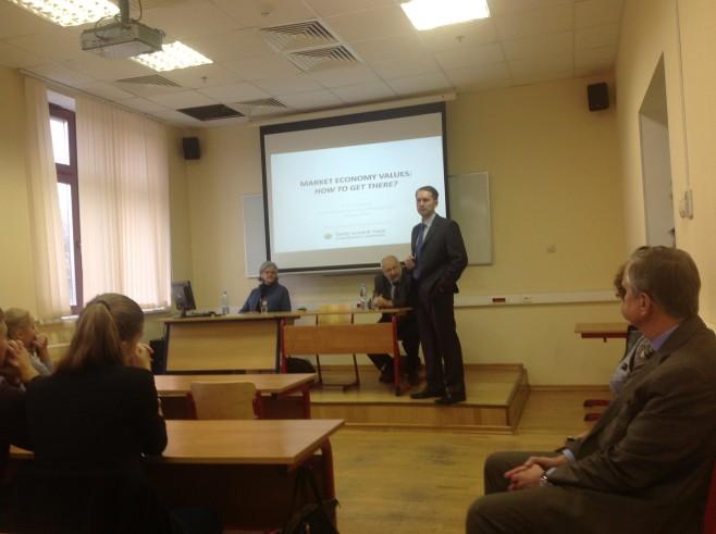 P. Dowden invited to speak in IUM